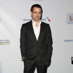 Colin Farrell at the US-Ireland Alliance's Oscar Wilde party