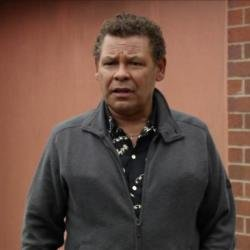 Craig Charles as Lloyd Mullaney in 'Coronation Street'