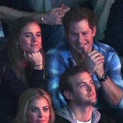 Cressida Bonas and Prince Harry pictured together in March