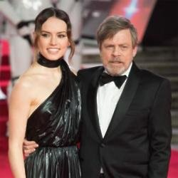 Star Wars actors Daisy Ridley and Mark Hamill