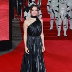 Daisy Ridley at The Last Jedi European premiere