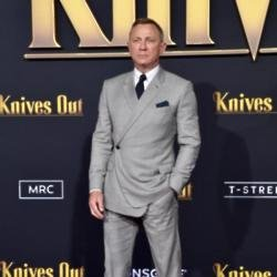 Daniel Craig at the Knives Out premiere