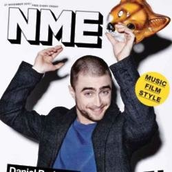 Daniel Radcliffe on NME cover