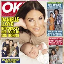 Danielle Lloyd in OK!