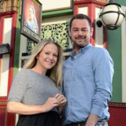 Danny Dyer and Kellie Bright as Mick and Linda Carter