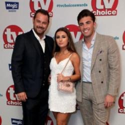 Danny and Dani Dyer with Jack Fincham