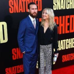 Danny Fujikawa and Kate Hudson at 'Snatched' premiere
