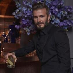 David Beckham at the HAIG CLUB London