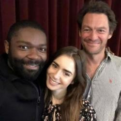 David Oyelowo, Lily Collins and Dominic West