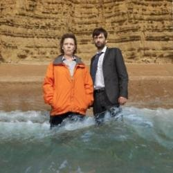 Olivia Coleman and David Tennant for 'Broadchurch'