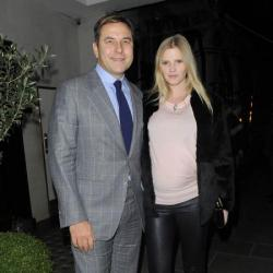 David Walliams and Lara Stone in 2013