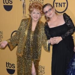 Debbie Reynolds und Carrie Fisher