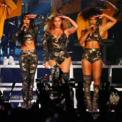 Beyonce Knowles, Kelly Rowland and Michelle Williams