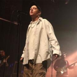 DMA's singer Tommy O'Dell on stage at the Forum