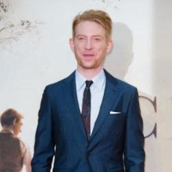 Domhnall Gleeson at Goodbye Christopher Robin premiere