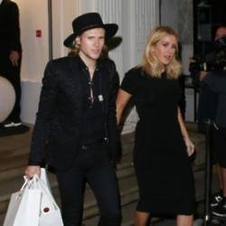 Dougie Poynter and Ellie Goulding in 2015
