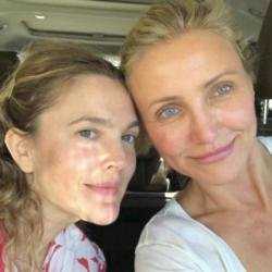 Drew Barrymore and Cameron Diaz (c) Instagram