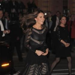 Duchess Catherine arriving at the Action on Addiction Autumn Gala Evening dinner and reception at L'Anima restaurant