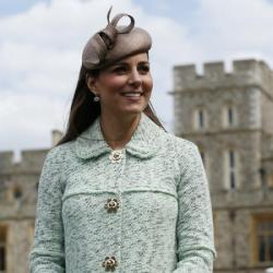 Duchess Catherine at National Review of Queen's Scouts