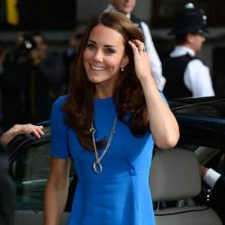 Duchess Catherine at the National Portrait Gallery