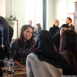 Duchess Catherine in Sunderland (c) Kensington Palace