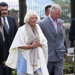 Britain's Duchess of Cornwall and Prince Charles