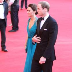 Duke and Duchess of Cambridge at the gala