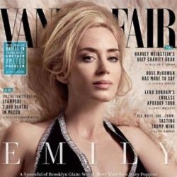 Emily Blunt on the cover of Vanity Fair