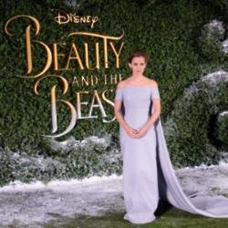 Emma Watson at the 'beauty and The Beast' London film premiere