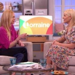 Fearne Cotton and Holly Willoughby on 'Lorraine'