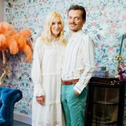 Fearne Cotton and Matthew Williamson