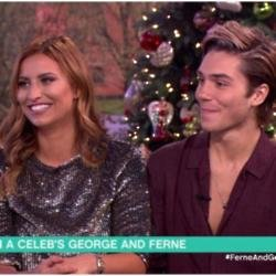 Ferne McCann and George Shelley on This Morning