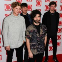 Foals at the Q Awards