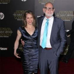 Frank Oz and his wife Victoria Labalme