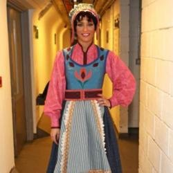 Frankie Bridge at Disney On Ice
