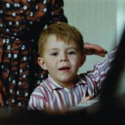 Freddie Henderson in the John Lewis advert
