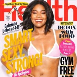 Gabrielle Union on the cover of Health magazine