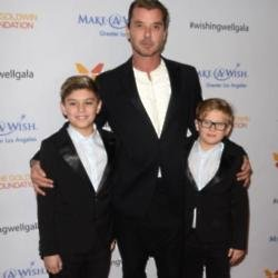 Gavin Rossdale and his sons