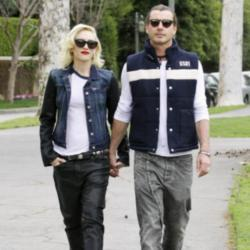 Gavin Rossdale with wife Gwen Stefani