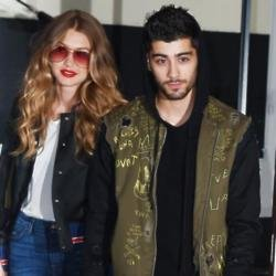 Gigi Hadid and Zayn Malik in 2016