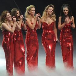 Girls Aloud on their Ten: The Hits Tour