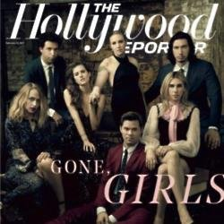 'Girls' cast for The Hollywood Reporter