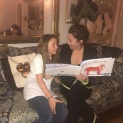 Gracie Friel and Anna Friel read The Tiger Protector
