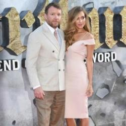 Guy Ritchie and his wife Jacqui Ainsley