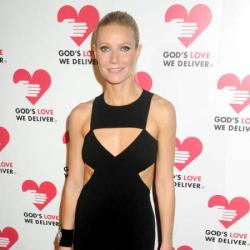 Gwyneth Paltrow wears Michael Kors and chose white pumps to finish this look