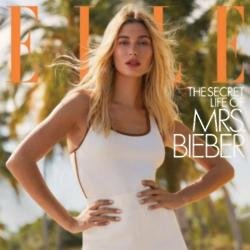 Hailey Bieber for Elle magazine