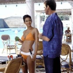 Halle Berry with Pierce Brosnan in Die Another Day