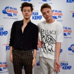 Harry Styles and Roman Kemp