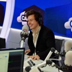 Harry Styles at Capital FM