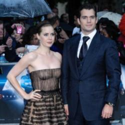 Amy Adams and Henry Cavill both looked handsome